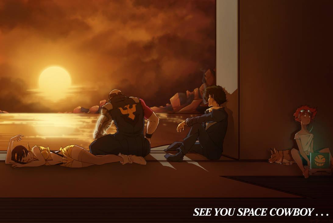 Good News ! Le topic des bonnes nouvelles :) - Page 3 See_you_space_cowboy______by_tacosaurusrex_d6r54wi-pre.jpg?token=eyJ0eXAiOiJKV1QiLCJhbGciOiJIUzI1NiJ9.eyJzdWIiOiJ1cm46YXBwOiIsImlzcyI6InVybjphcHA6Iiwib2JqIjpbW3siaGVpZ2h0IjoiPD0xMDcxIiwicGF0aCI6IlwvZlwvYzk0NmNkNTQtYzJkMS00YTFlLTkzZjAtZjg2N2NkN2JjMGU0XC9kNnI1NHdpLTI2YThjNTFhLTRkZTctNGM4Yy1iNjNhLTg3MDMzYzQwYmMwOS5wbmciLCJ3aWR0aCI6Ijw9MTYwMCJ9XV0sImF1ZCI6WyJ1cm46c2VydmljZTppbWFnZS5vcGVyYXRpb25zIl19