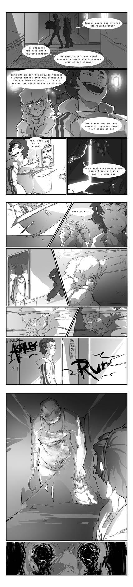 Night of the Hunter comic