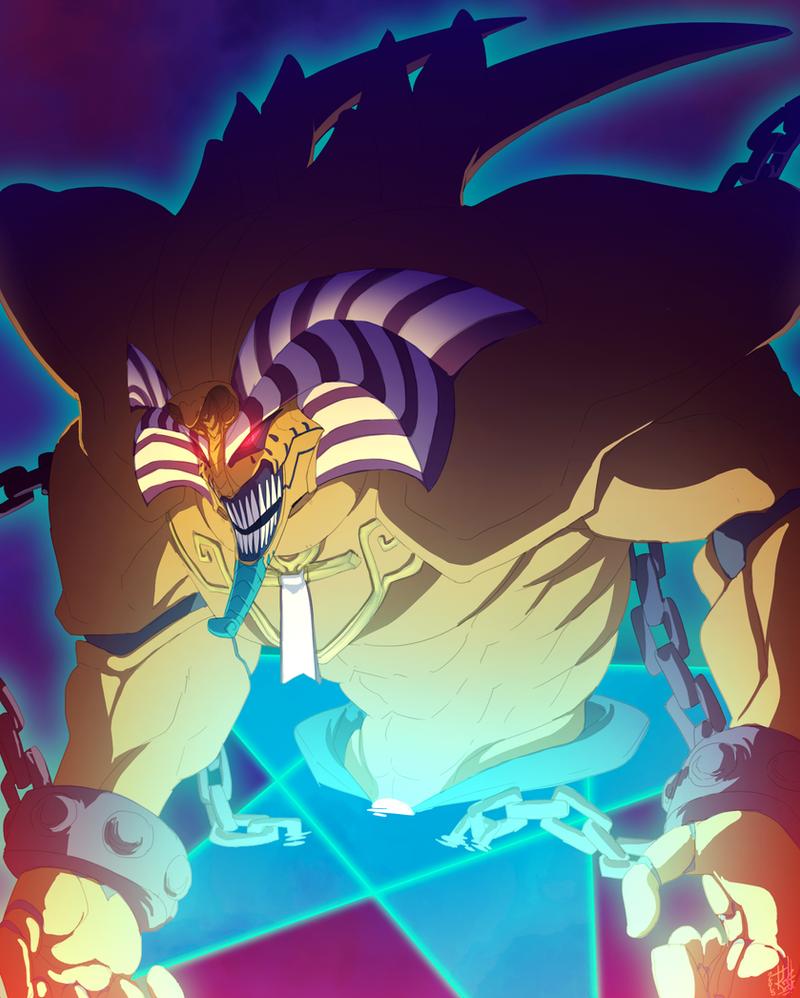Exodia The Forbidden One by TacosaurusRex