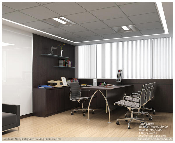 Ceo office cabin 02 ceo cabin by umesh 80
