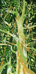 Green Bird Tree... 2009 by sulelikiz