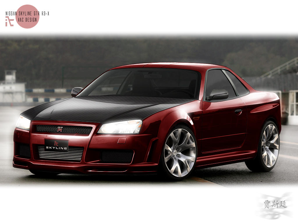 race bred Nissan+skyline+