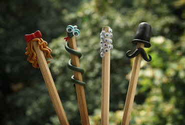 Wacky Pencils II by lemondemon