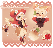 [CLOSED] Ponpon Auction -Guest designer adoptable-