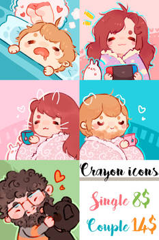 Crayon icon commission [OPEN]