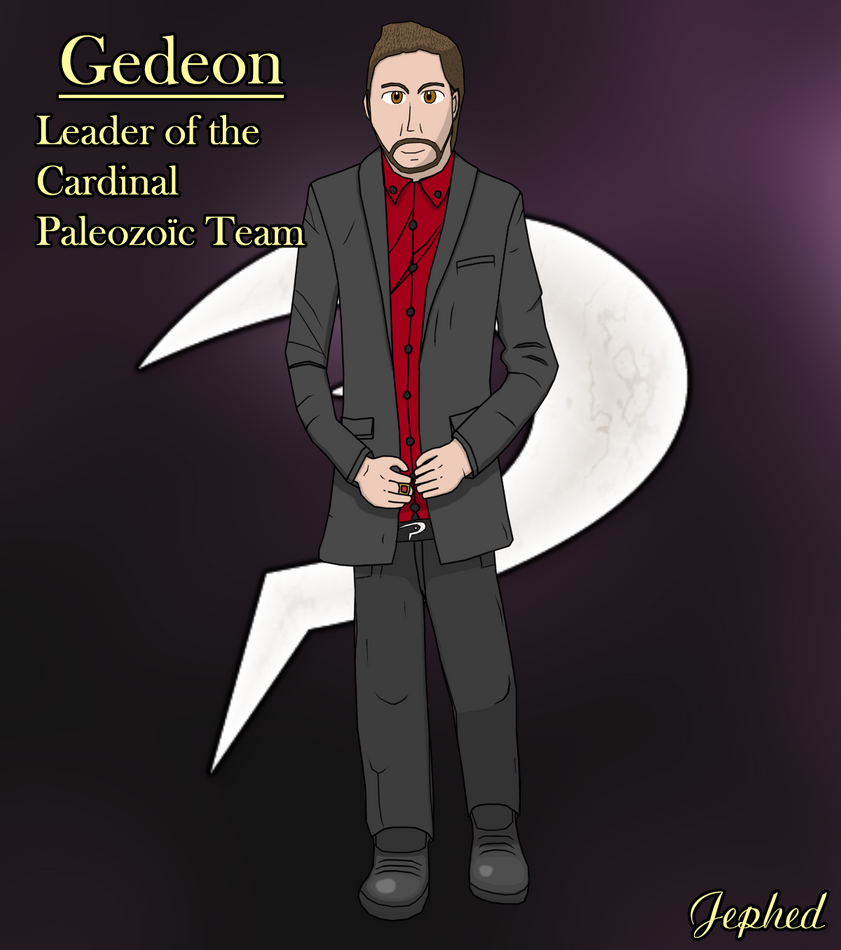 Pkmn Fractured Evil - Team Paleozoic Boss Gedeon by Jephed215