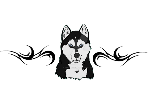 Husky Tattoo On Pinterest German Shepherd Tattoo Husky