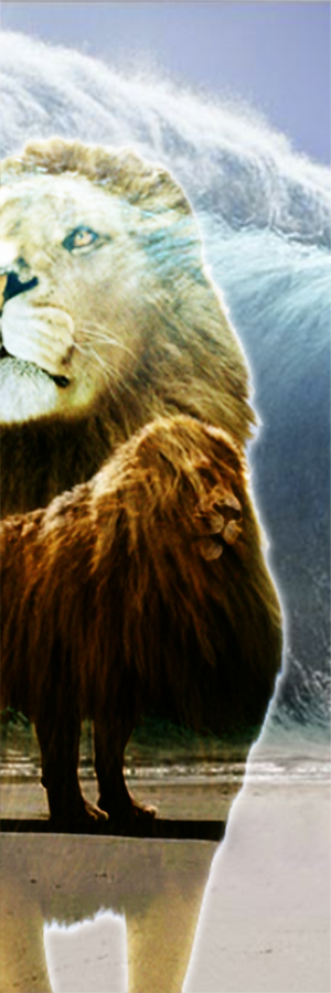 Aslan Bookmark - The Chronicles of Narnia