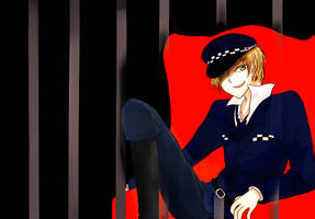 Iggy the police by D-Deciso