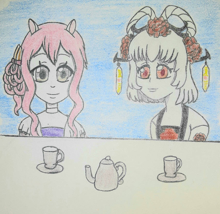 Anniverse prompt: tea party
