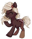 Pumpernickel Pixel Pony by Pepooni by StyxLady