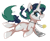 Drifter Pixel Pony by Pepooni by StyxLady