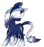 Snowblind Pixel Pony by Pepooni by StyxLady