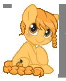 [Commission] Honey Drop Tiny Chibi by StyxLady
