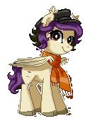 Silk Pixel Pony by StyxLady