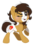 [Commission] Honeycrisp Tiny Chibi