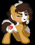 [Commission] Honeycrisp Tiny Chibi