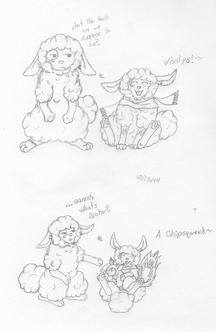 Yay! Woolys! by Ashfur15