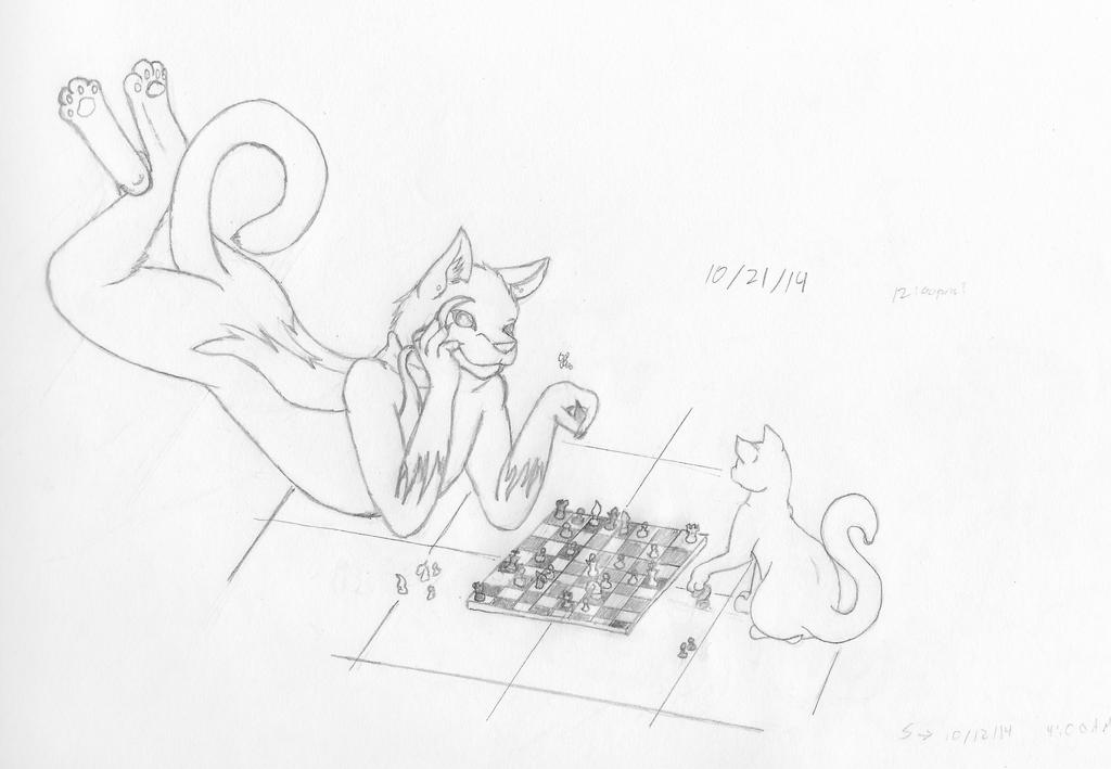 Chess Game by Ashfur15