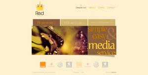 Red Media website by anca-v