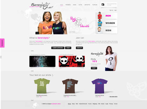 Serendipity online shop