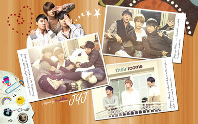 JYJ - Their Rooms