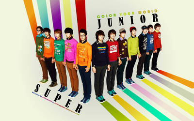 Super Junior - Color Your World