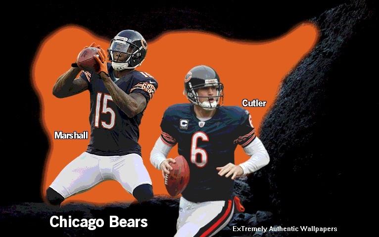 Brandon Marshall Jay Cutler Chicago Bears Cave By Keiffer Boy