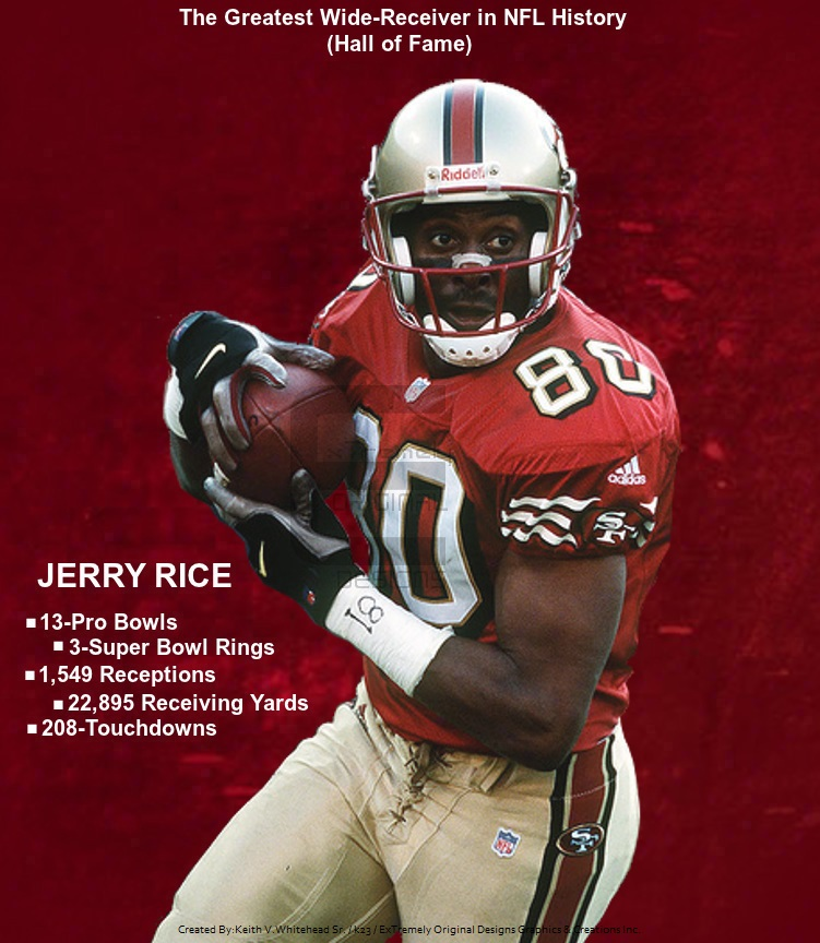 jerry rice hall of fame best receiver ever by keiffer