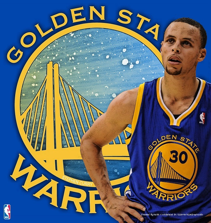 Stephen Curry Wallpaper: Stephen Curry Of The Golden State Warriors By Keiffer-Boy