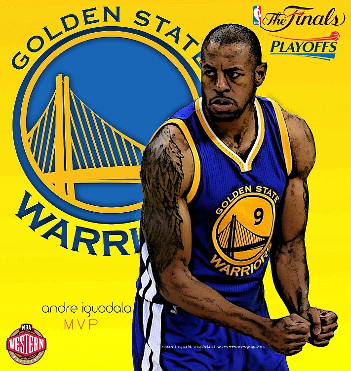 2015 NBA Playoffs MVP Andre Iguodala of the Golden by ...