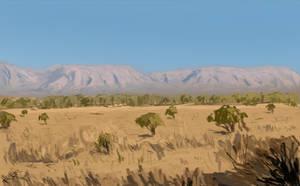 Study 01 African Landscape by Freezeron