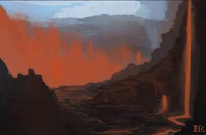 Active Volcano by Freezeron