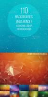 110 Backgrounds Mega Bundle by Freezeron