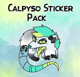 Calpyso Sticker Pack by FluffyGalaxies