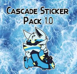 Cascade Sticker Pack 1.0 by FluffyGalaxies