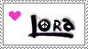 Lora8 Fan Stamp by Zeah1Renee5Voinovich