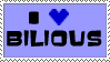 I Heart Le Bilious Stamp by Zeah1Renee5Voinovich