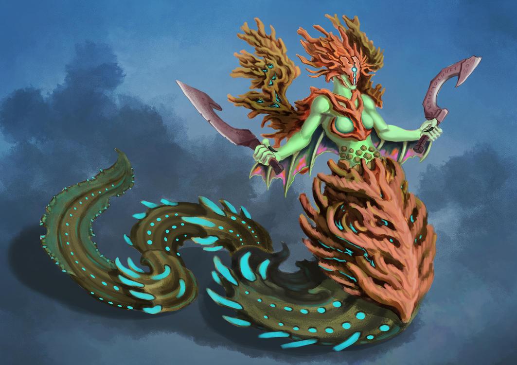 Sea Maiden by EldarAmenov