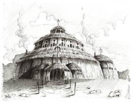 Alderbaran High Temple by LittleBOYblack