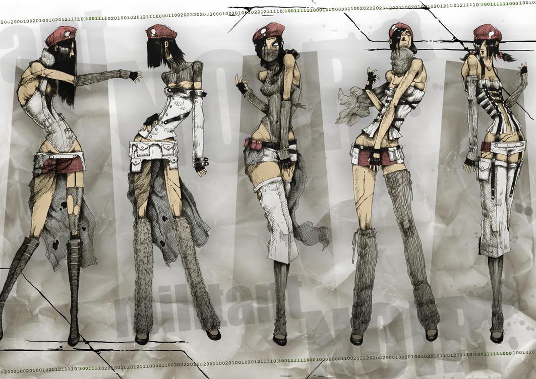 Militant NOIR - Clothing Range by LittleBOYblack