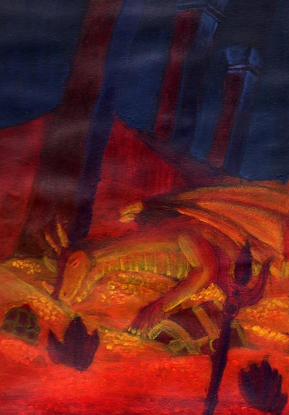 the sleeping dragon by otaku-dana