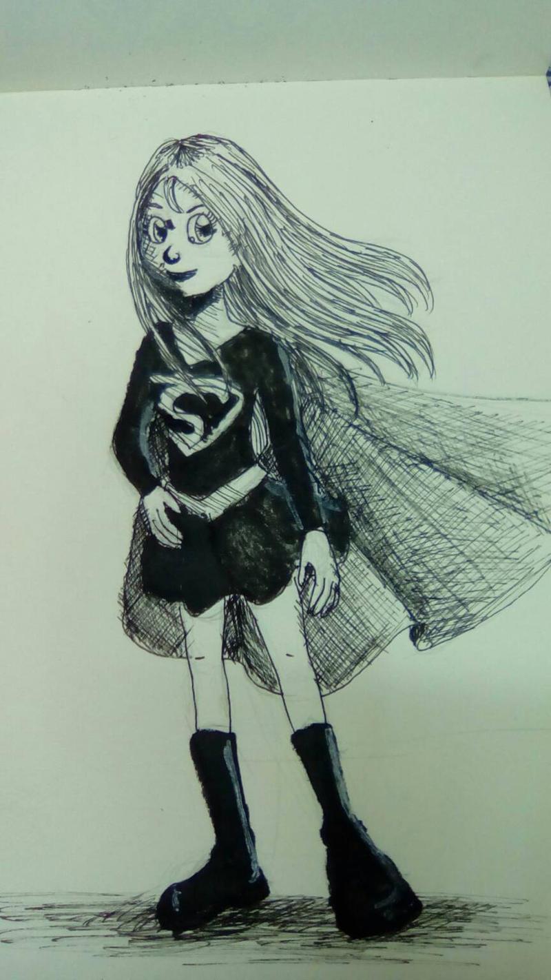 super girl by otaku-dana