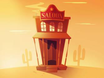 Saloon by nikcann