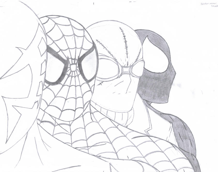 Spider man shattered dimension by q2099 on deviantart for Spider man 2099 coloring pages