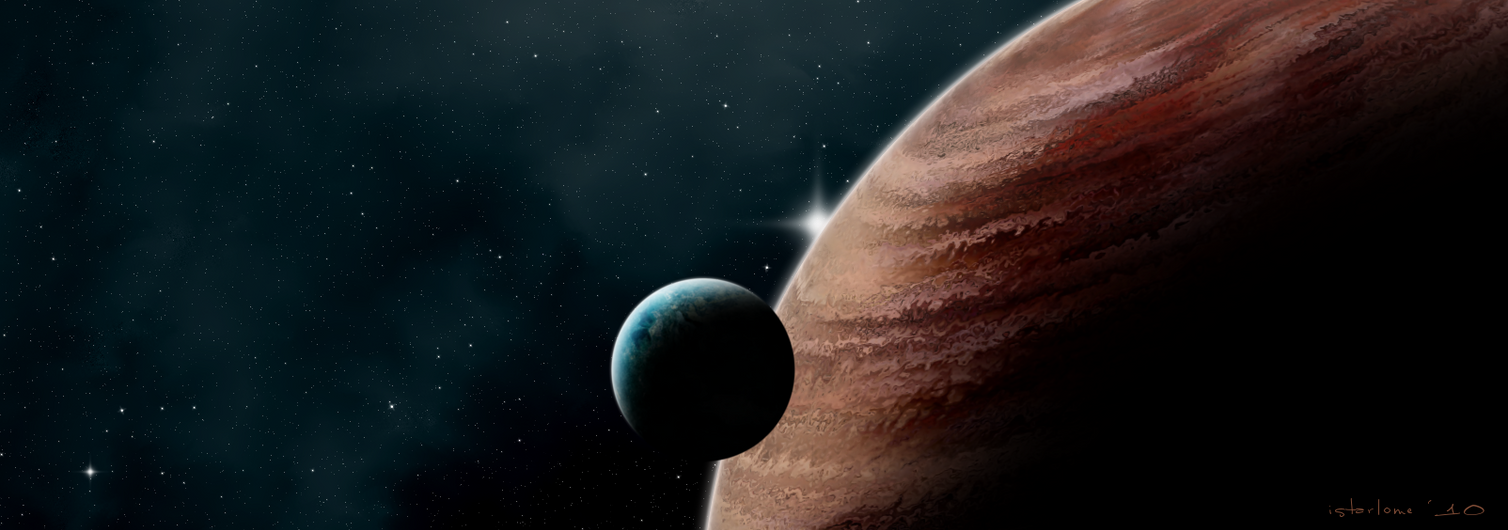 habitable moon ii by istarlome on deviantART