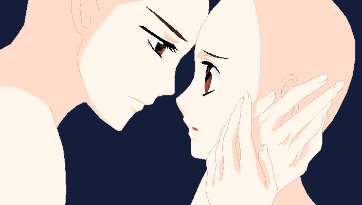 anime kiss base