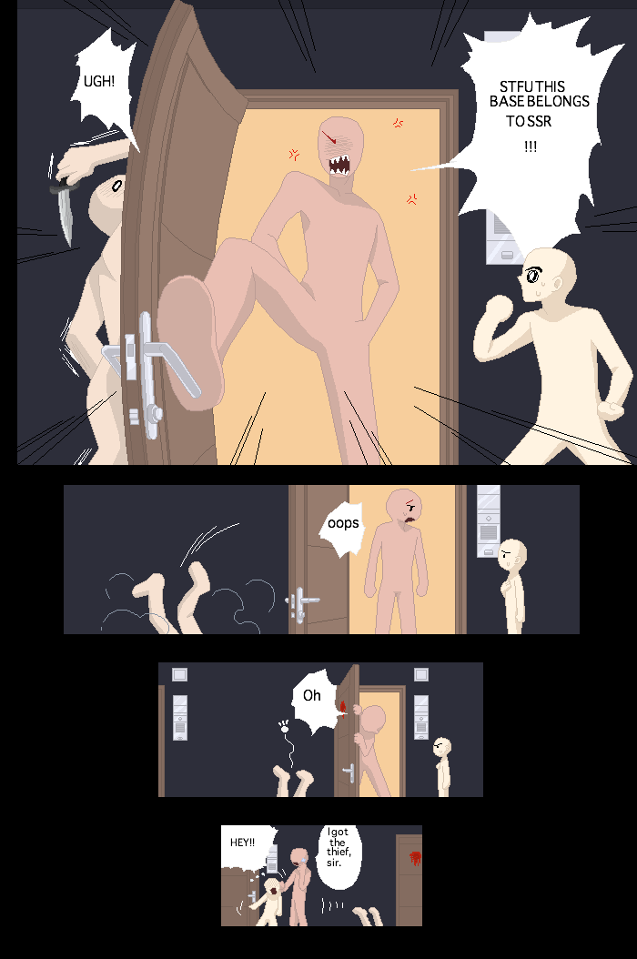 Funny Comic Page Base By Furipa93