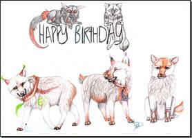 Happy birthday Kaya ! by neko-systeme