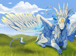 One day in a god's life + SPEEDPAINT by neko-systeme